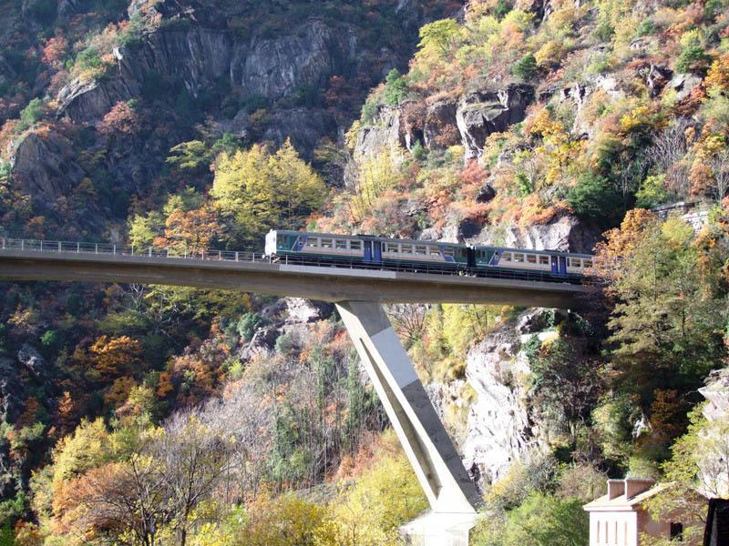 Treno Cuneo nizza