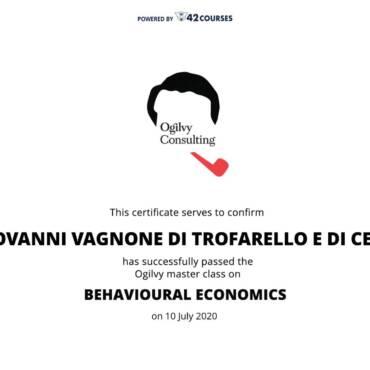 Un breve viaggio nella Behavioural Economics